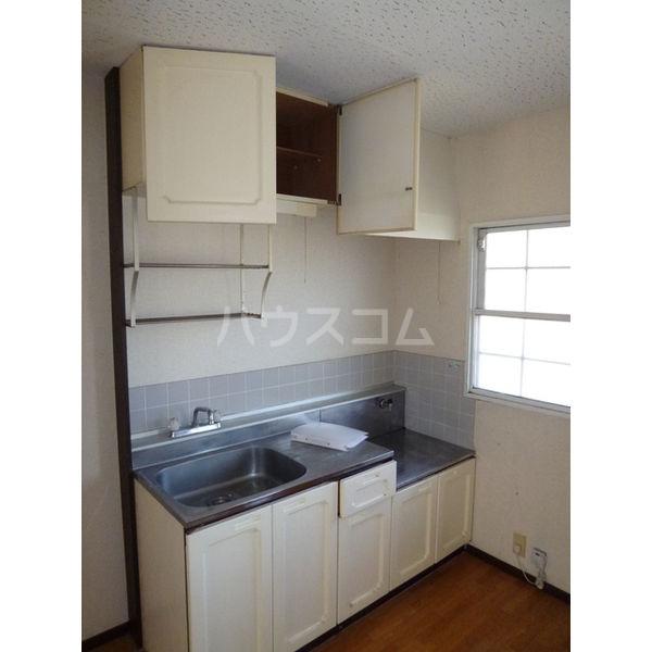 サンシティマガミ 205号室のキッチン