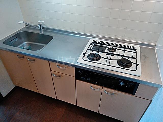 すずらんⅦ 3B号室のキッチン