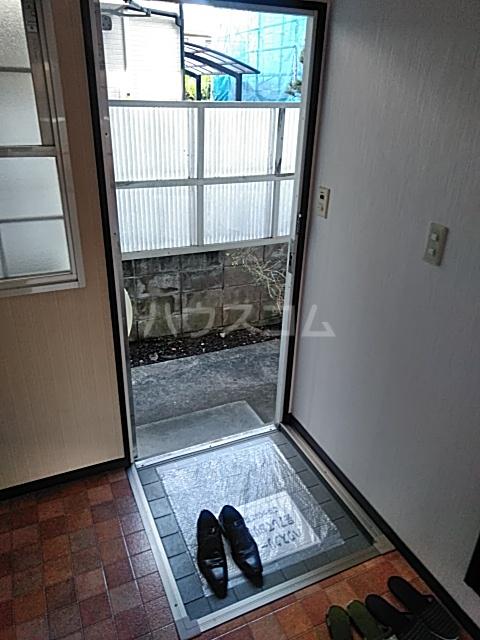 清成ハイツ 101号室の玄関