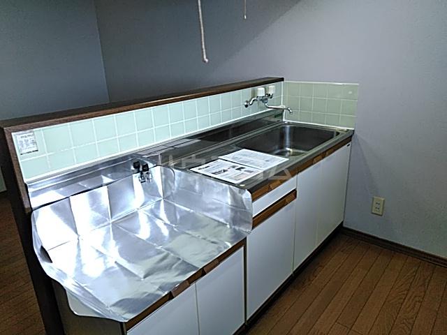 グリーンハイツ三澤パート6 B201号室のキッチン