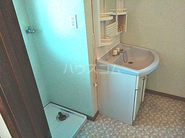 グリーンハイツ三澤パート6 B201号室の洗面所