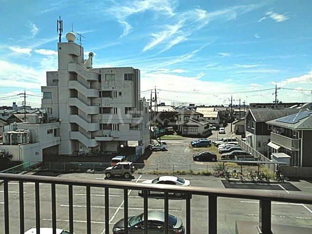 グリーンハイツ三澤パート6 B201号室の景色