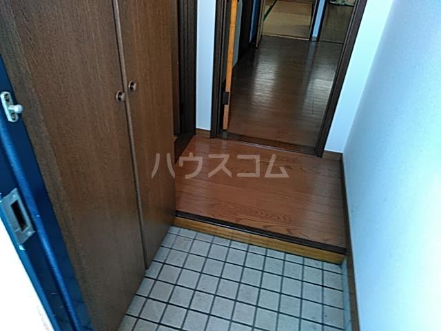 グリーンハイツ三澤パート6 B201号室の玄関