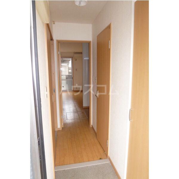 東栄ハイツB 105号室の玄関