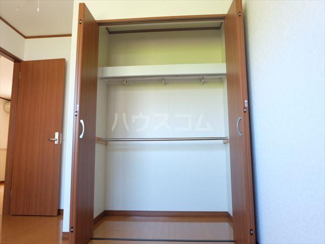 レジデンスアルタⅢ 102号室の収納