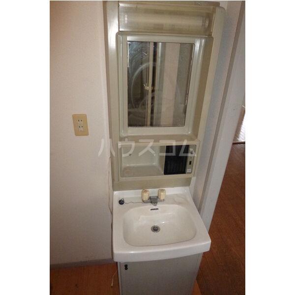 サンライフサテラ 202号室の洗面所