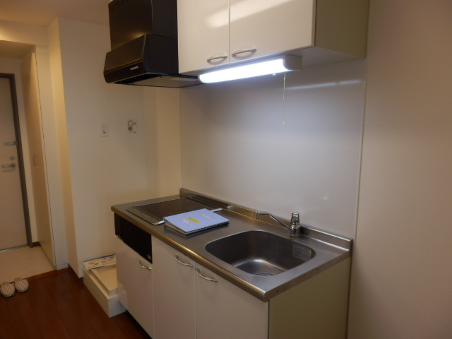 ビッグ・ビー宇都宮 1004号室のキッチン