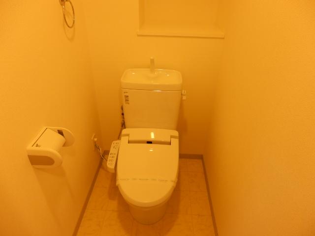 ビッグ・ビー宇都宮 1004号室のトイレ