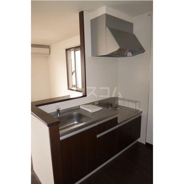ラ・カーサ・フェリーチェ 202号室のキッチン