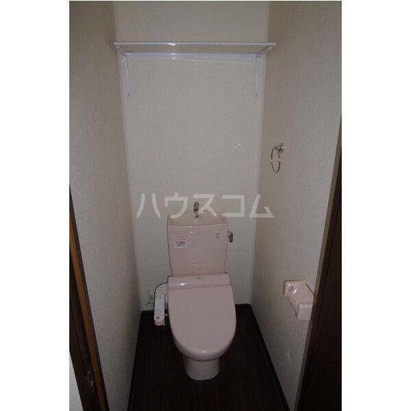 ラ・カーサ・フェリーチェ 202号室のトイレ
