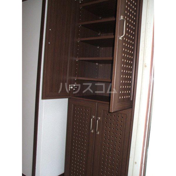 コーポエクセルⅠ 105号室の玄関