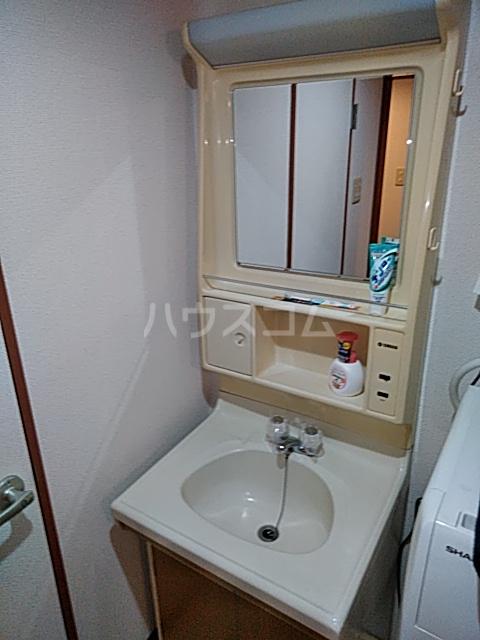 パークサイドレジデンス 308号室の洗面所