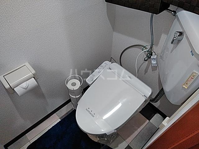 パークサイドレジデンス 308号室のトイレ