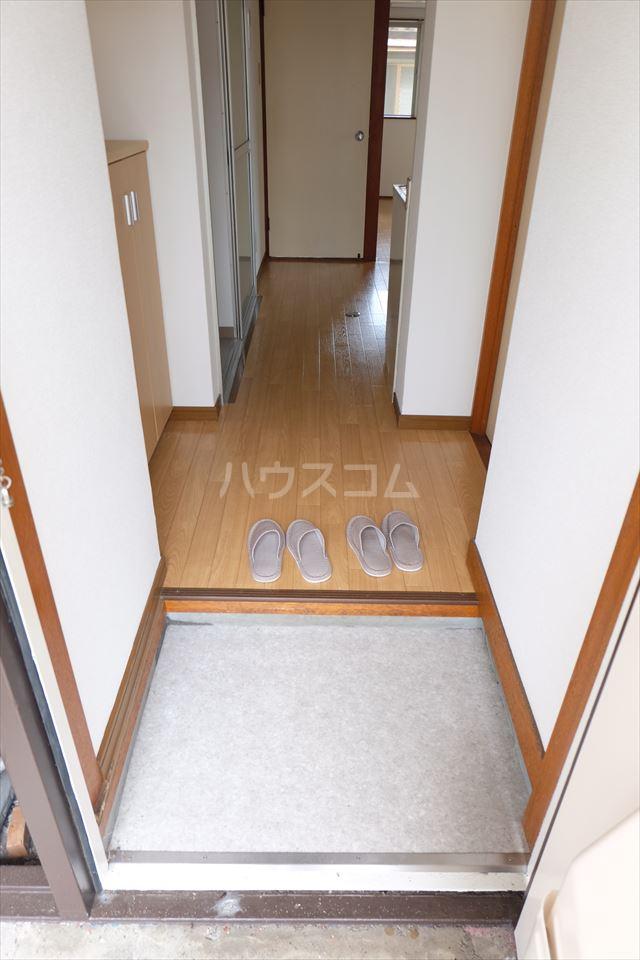 コーポ山晃 101号室の玄関