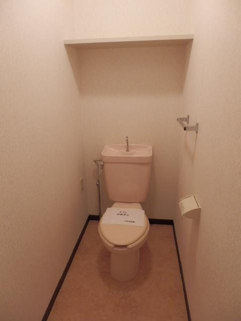 ルミエール薬師寺 203号室のトイレ