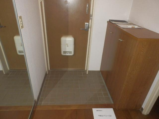 ルミエール薬師寺 203号室の玄関