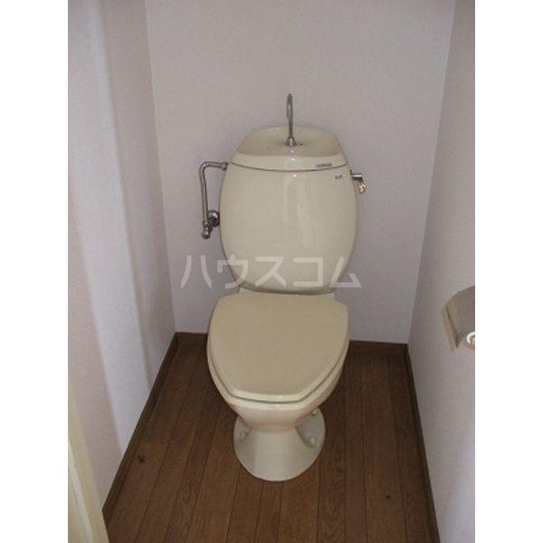 簗瀬ハイム 102号室のトイレ