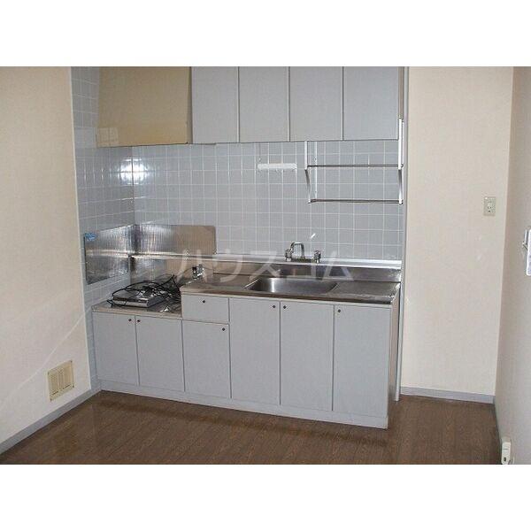ウイングミユキ A 101号室のキッチン