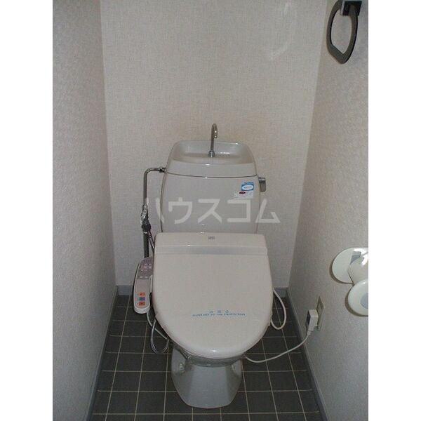 ウイングミユキ A 101号室のトイレ