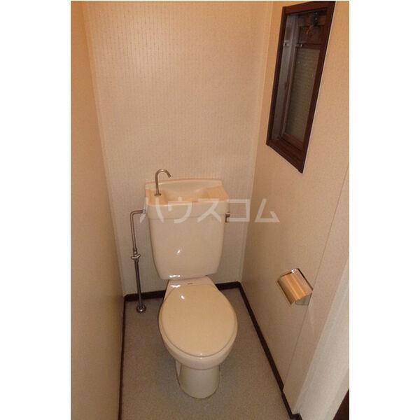 中里ハイツⅠ 101号室のトイレ