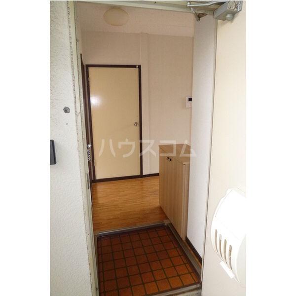 中里ハイツⅠ 101号室の玄関