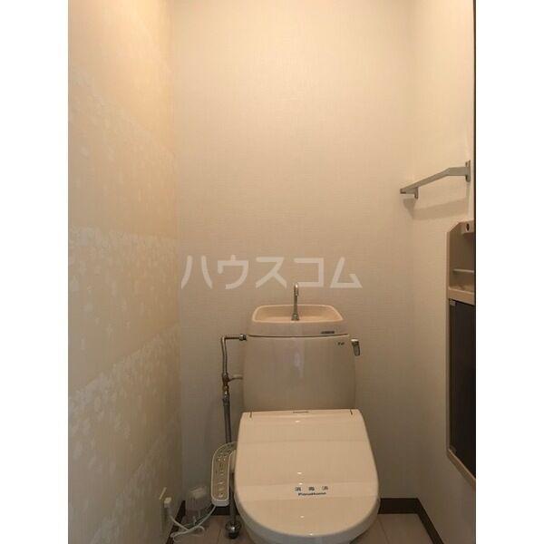 ドミールカガワ B 202号室のトイレ
