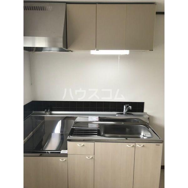 ドミールカガワ B 202号室のキッチン