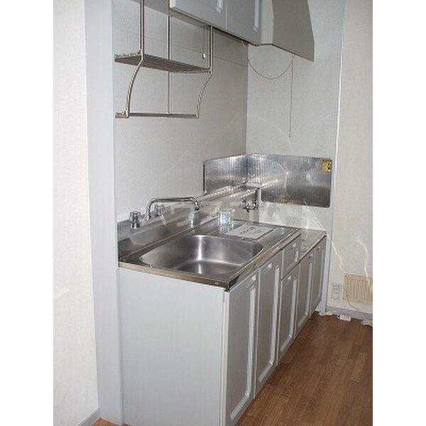 ビーラインホンザワ 101号室のキッチン