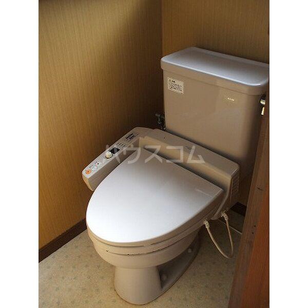 小滝アパート 2号室のトイレ