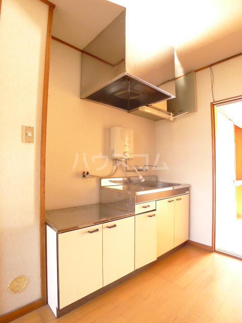 志朋ハイツ・峰 103号室のキッチン