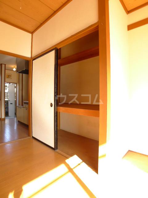志朋ハイツ・峰 103号室の収納