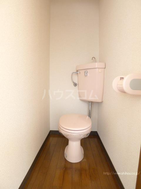 志朋ハイツ・峰 106号室のトイレ