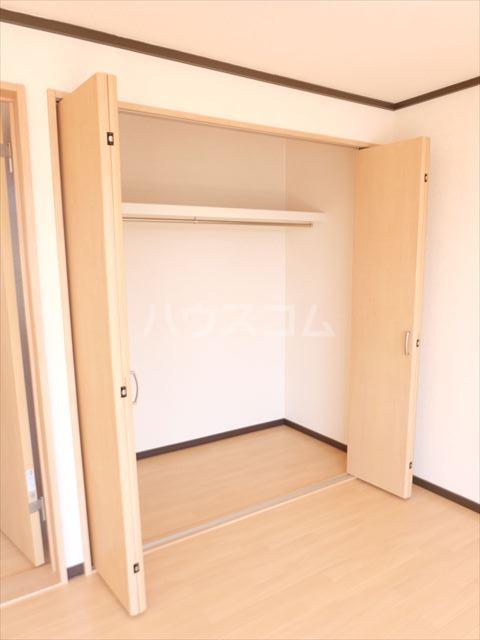 明清ハイツ 201号室の収納