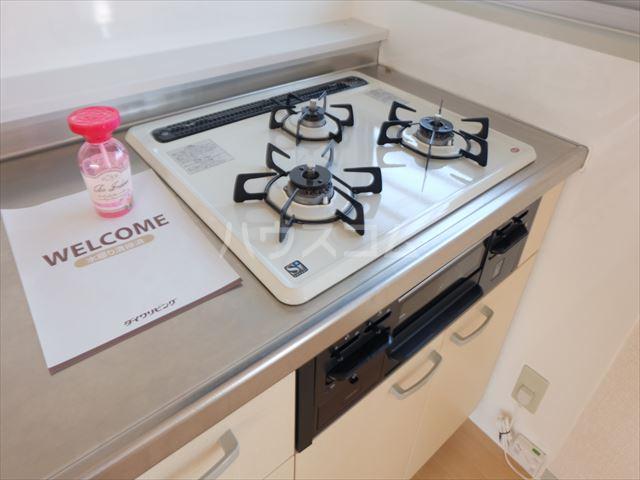 明清ハイツ 201号室のキッチン
