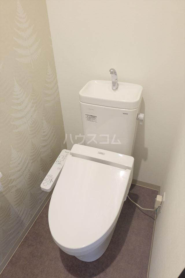 ウィンクラッセ 603号室のトイレ