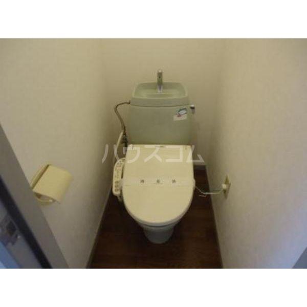 プレザン 102号室のトイレ