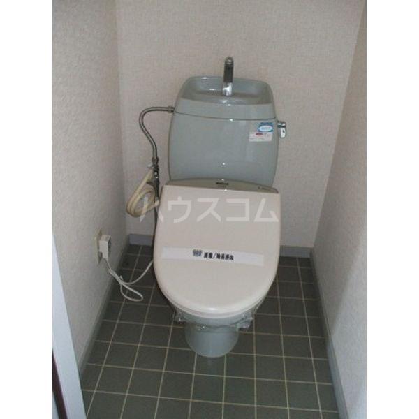 サンビレッジ光陽台十一番館 201号室のトイレ
