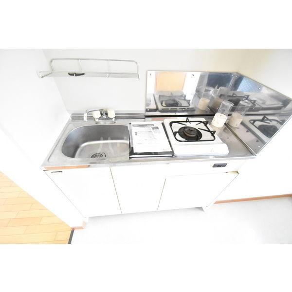 錦コート 303号室のキッチン