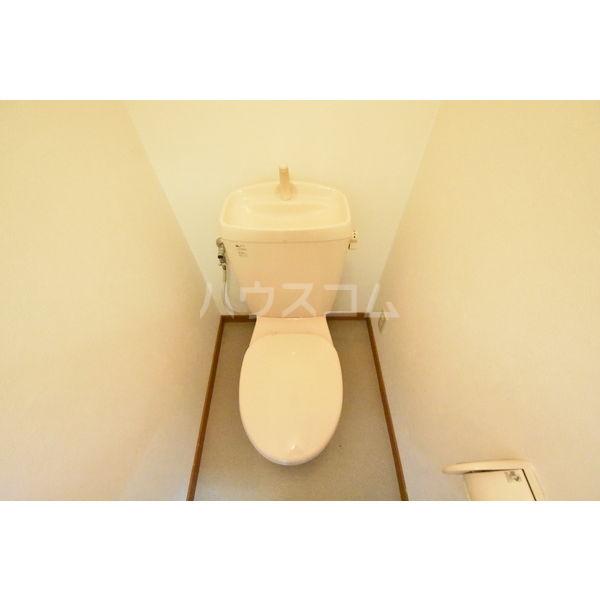錦コート 303号室のトイレ