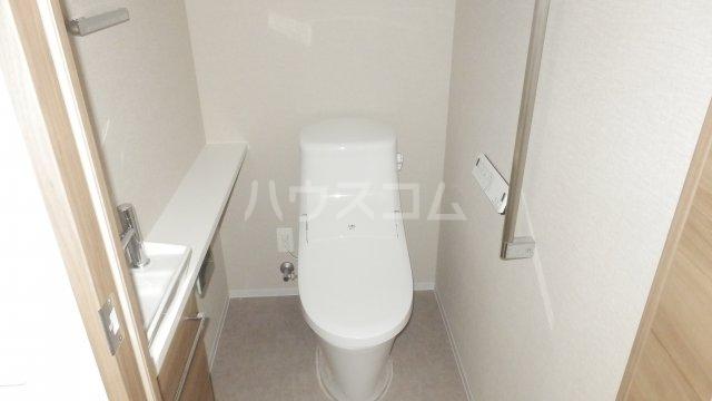 宇都宮PEAKS 1807号室のトイレ