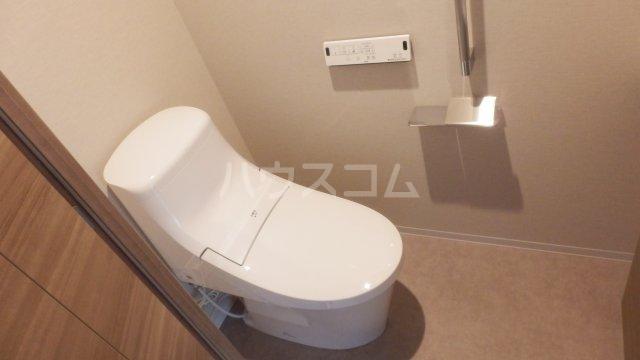 宇都宮PEAKS 2003号室のトイレ