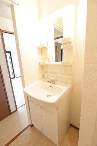 ウィルビューA棟 201号室の洗面所