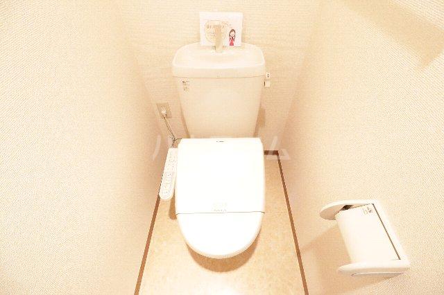ウィルビューA棟 201号室のトイレ