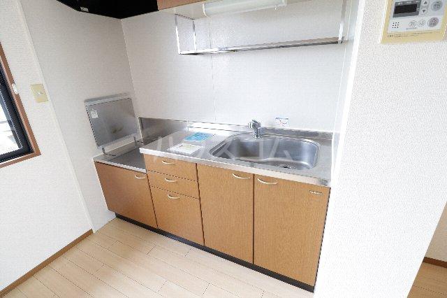 ウィルビューA棟 201号室のキッチン