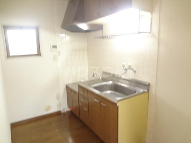 ベルジュ 203号室のキッチン