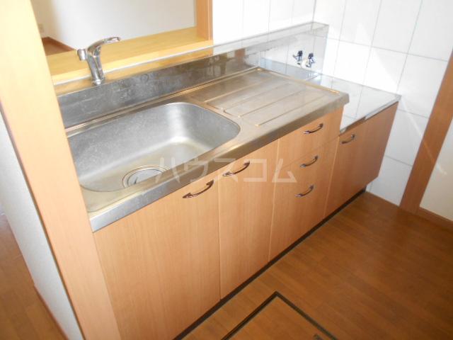 レインボーⅠ 102号室のキッチン