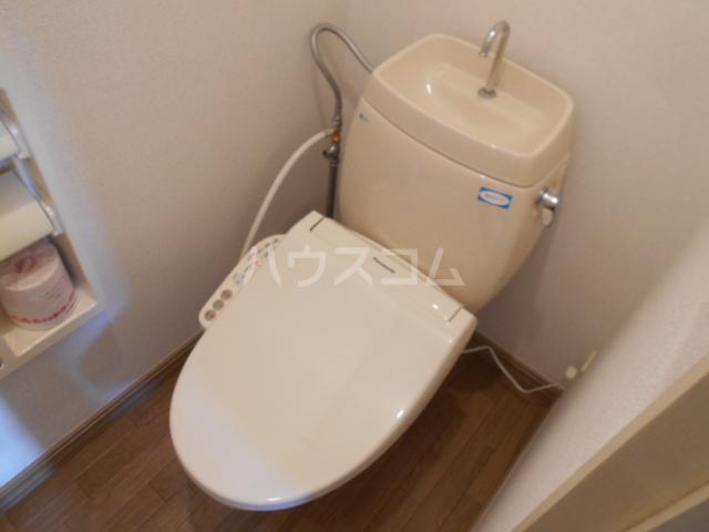 サンメゾネットCのトイレ