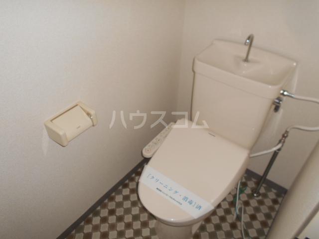 ジュネス西湘 305号室のトイレ