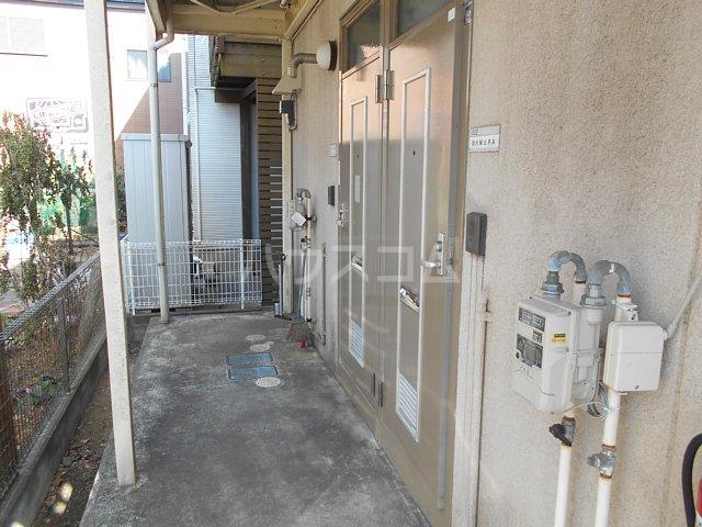 シティハイムハイツミユキ 102号室の玄関