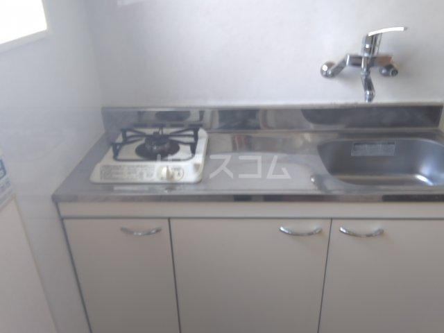 山中ビル 502号室のキッチン